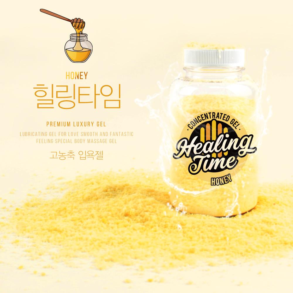 허니(꿀) 입욕젤 가루타입 힐링타임 150g   LOVEDOLL