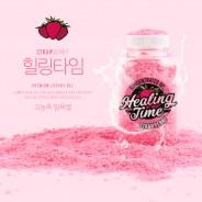 딸기향 입욕젤 가루타입 힐링타임 150g | LOVEDOLL